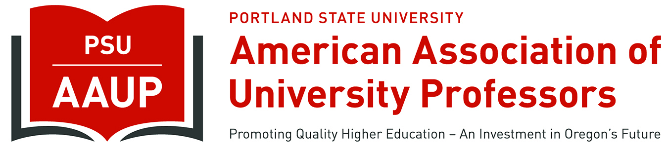 PSU-AAUP, Portland State University Chapter of the American Association of University Professors